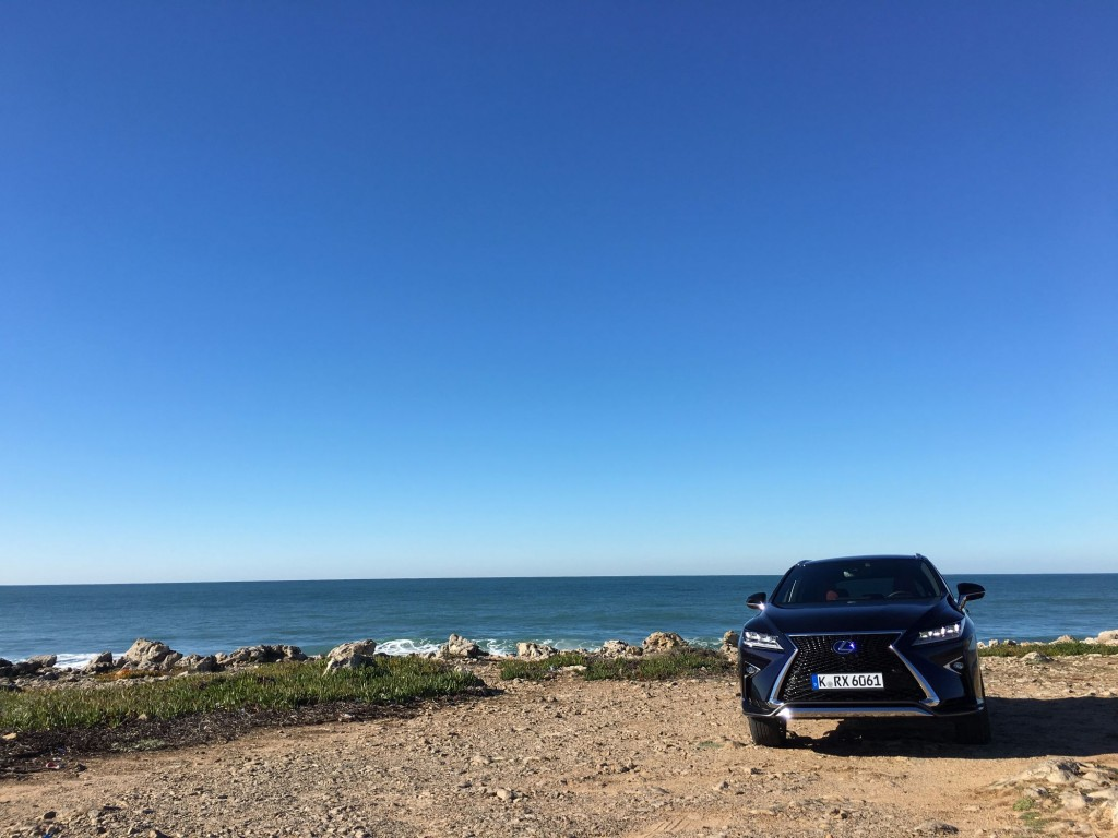 Lexus RX Front 2016