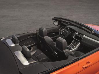 Range Rover Evoque Cabrio 2015 Innenraum