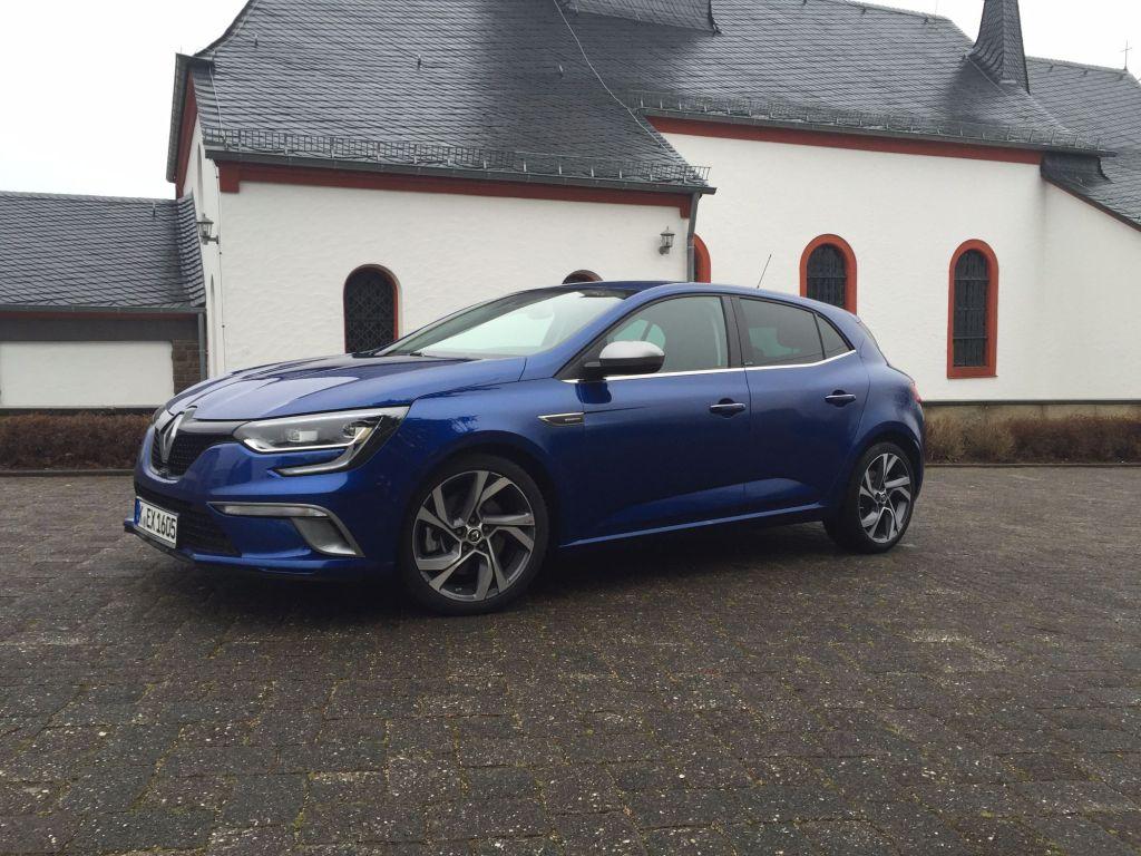 Renault Megané Seitenansicht 2015
