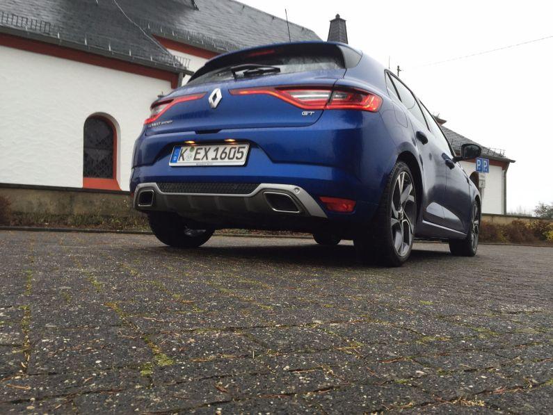 Renault Megané Auspfuff