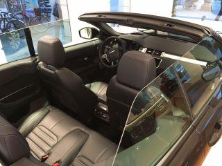 Das Range Rover Evoque Cabriolet Cockpit