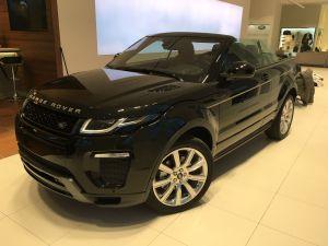 Das Range Rover Evoque Cabriolet 2016