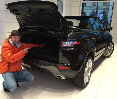 Das Range Rover Evoque Cabriolet Friedbert Weizenecker