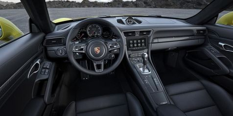 911 Turbo Cockpit
