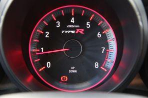 Honda Civic Type R 2015 Drehzahlmesser 7000 Umdrehungen
