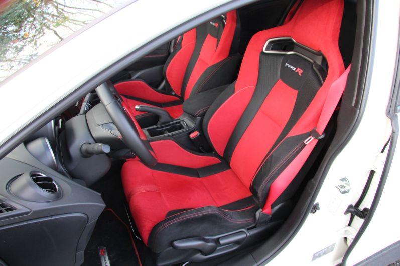 Honda Civic Type R 2015 Schalensitze
