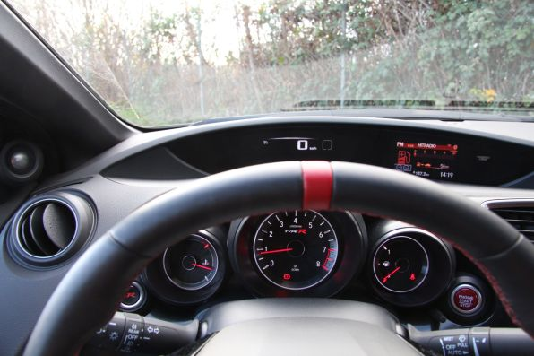 Honda Civic Type R 2015 Zweiteiliges Display