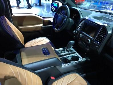 #FordNAIAS in Detroit Cockpit F150