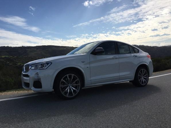 BMW X4 M40i schöne Linienführung des bulligen SAV