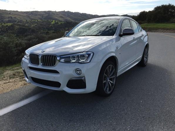 BMW M40i Lufteinlässe
