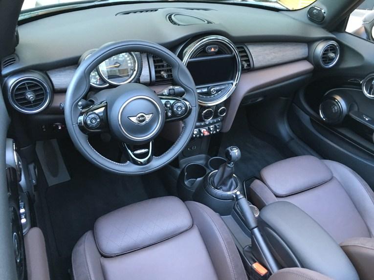 Innenraum Mini Cabrio