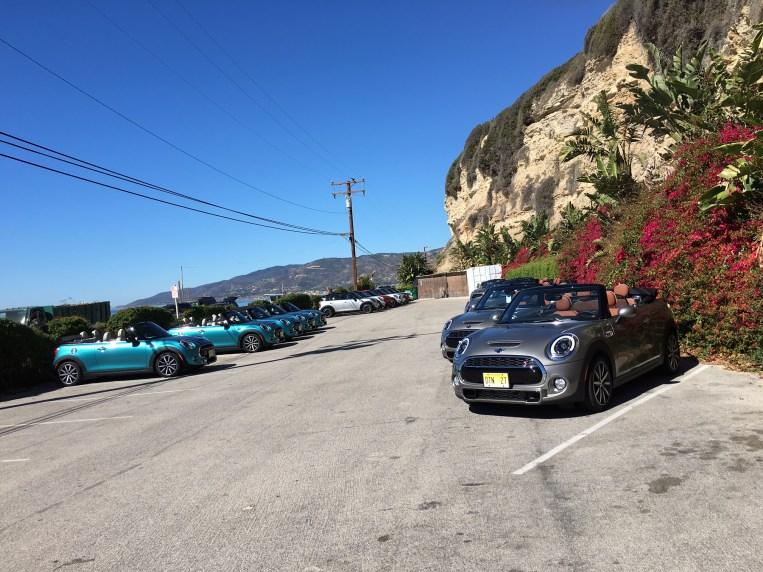 Mini Cabrios Modelljahr 2016 in Malibu