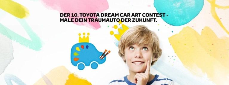 Der 10. Toyota Dream Car Contest ist online