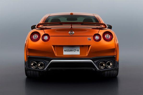 Nissan GT-R Heck