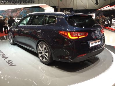 Kia Optima Sportswagon Heck