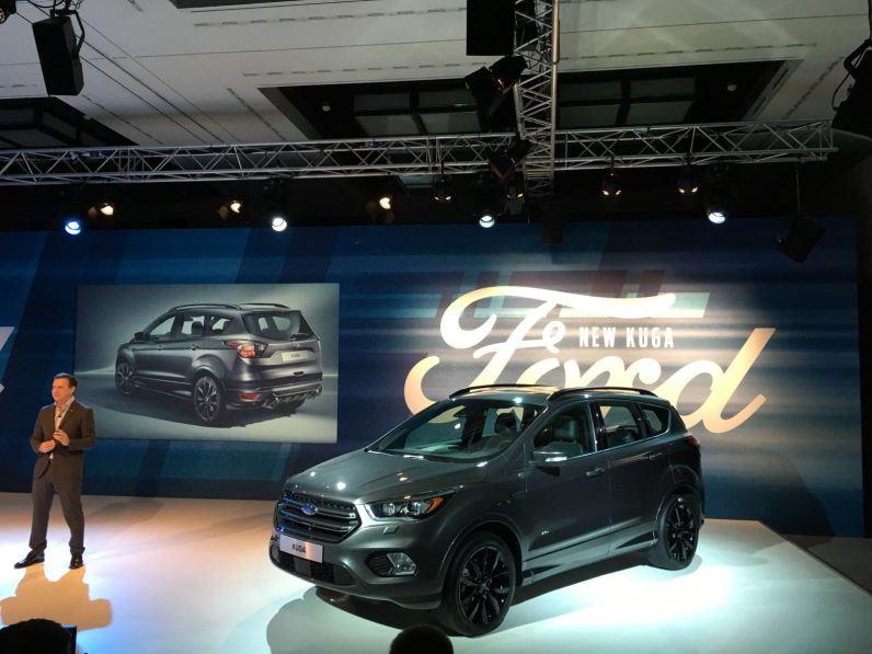 Ford zeigt den überarbeiteten Kuga
