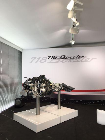 Porsche Boxster S Motor