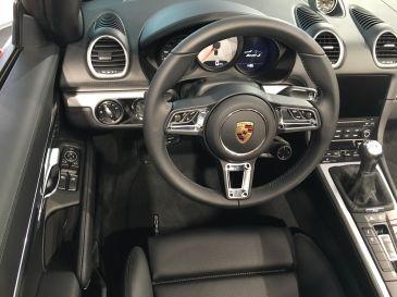 Porsche Boxster S Boost-Modus