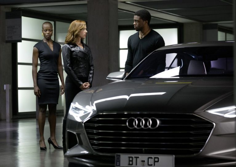 """Captain America"" fährt Audi SQ7"