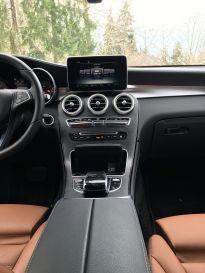 Mercedes GLC Mittelkonsole