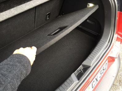 Mazda CX3 Kofferraum