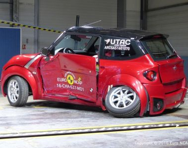 Euro NCAP crasht vier Micro-Cars