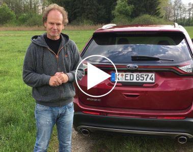 Der Ford Edge - nun auch in Europa