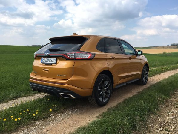 Ford Edge Heck 2016