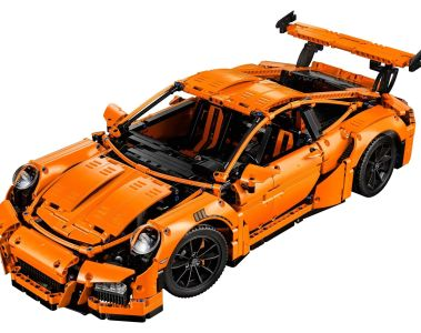 Lego bringt Porsche 911 GT3 RS aus über 2700 Teilen