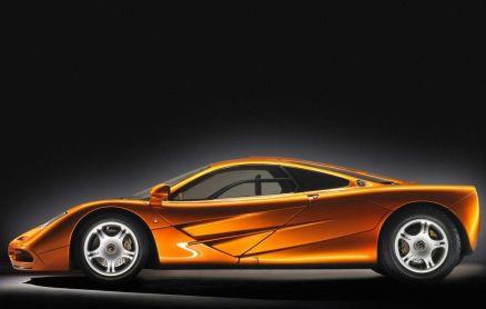 McLaren F1 seitenansicht