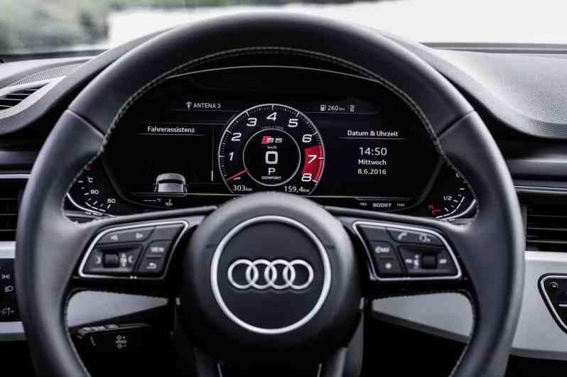 Audi S5 Lenkrad