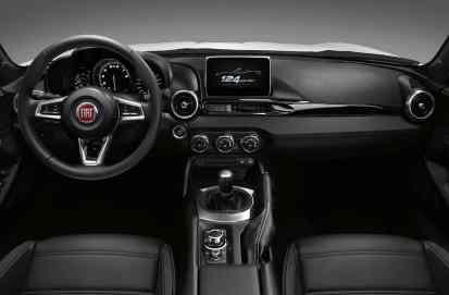 Fiat 124 Spider Cockpit