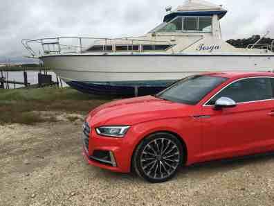 Audi A5 Front