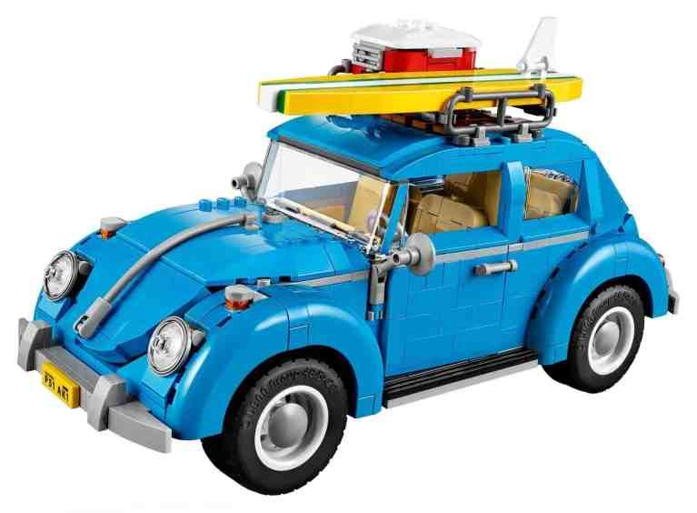 VW Käfer aus 1167 Legoteile