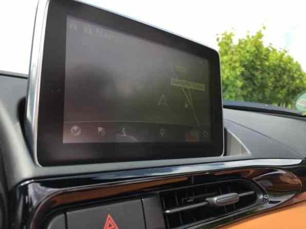 Fiat 124 Spider Cabrio Display