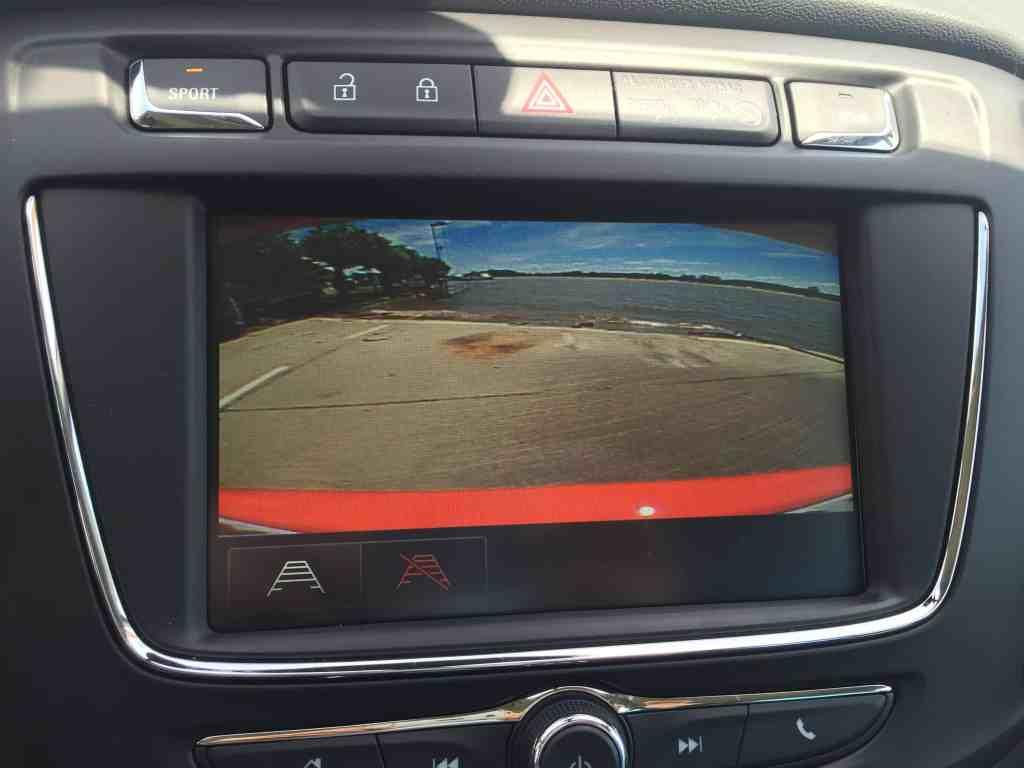 Opel Zafira Display
