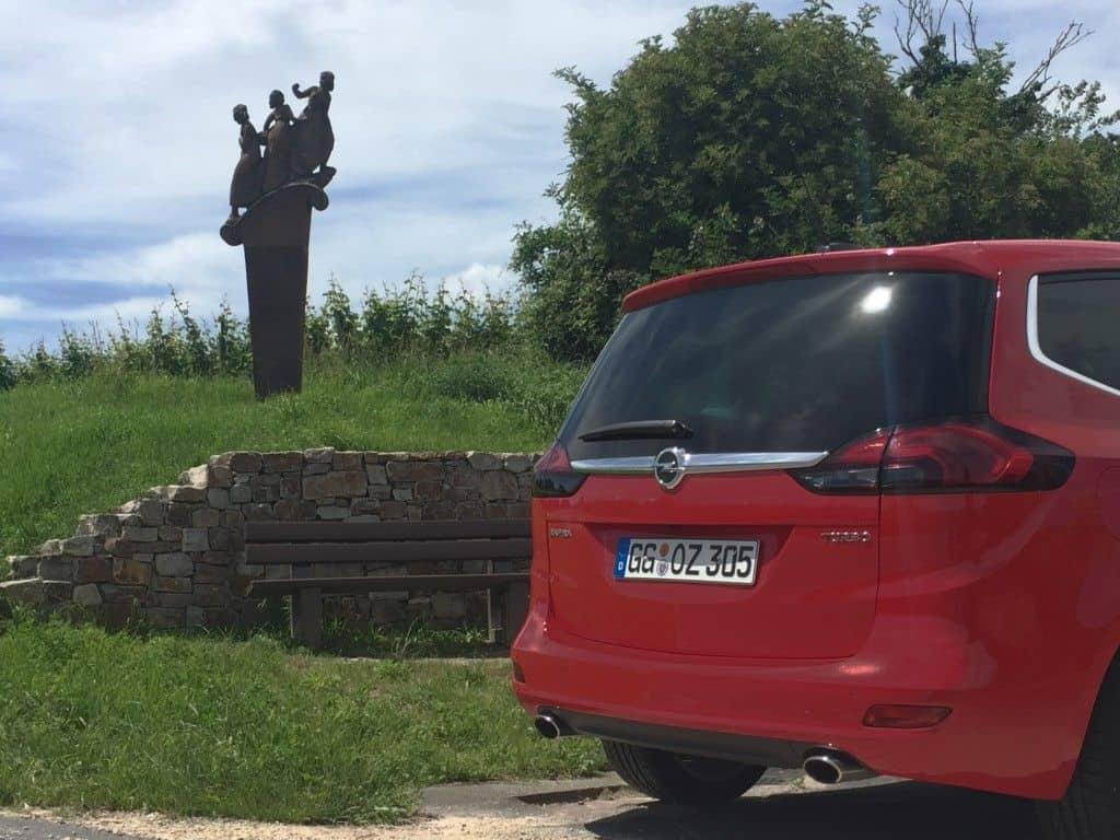 Opel Zafira Heckklappe