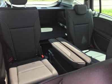 Opel Zafira Rücksitze