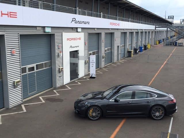 Porsche Panamera Seitenansicht