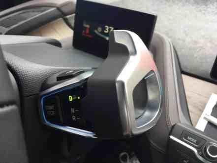 BMW i3 Schalthebel