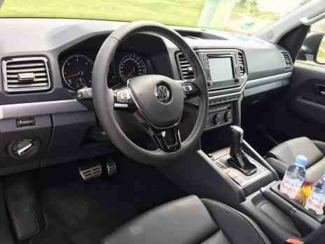 VW Amarok Cockpit