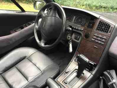 Subaru SVX Cockpit
