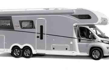 Dethleffs mit Sondermodell Grand Alpa A 7820-2 auf dem Caravan Salon