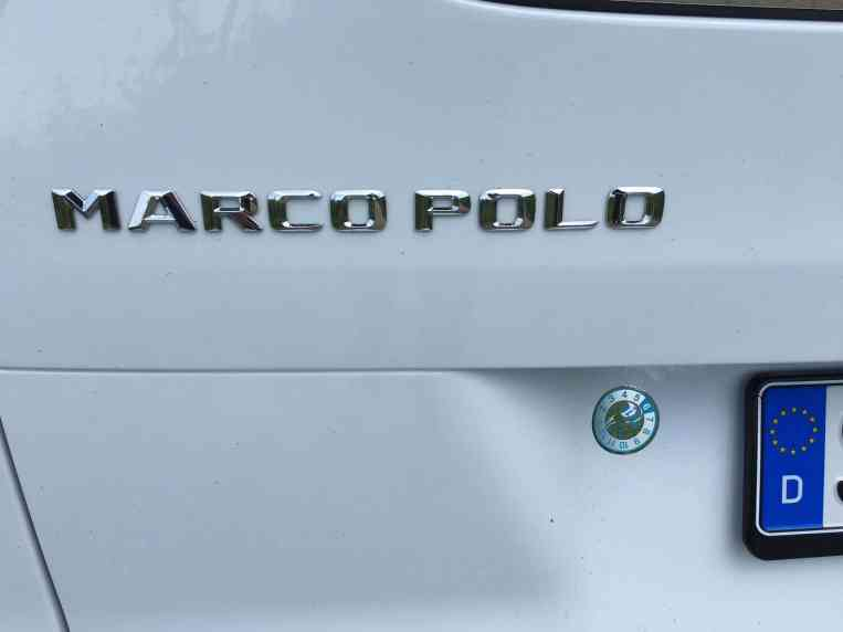 Mercedes Benz V-Klasse Marco Polo Logo