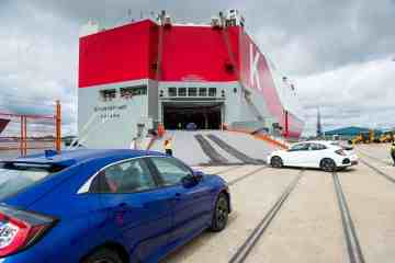 Honda exportiert Civic Fünftürers in die USA