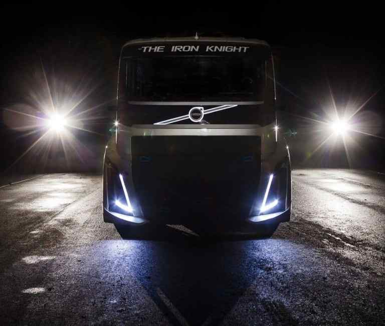 Volvo will's wissen: Schnellster Lkw der Welt?