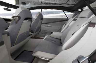 Cadillac Escala Concept Rückbank