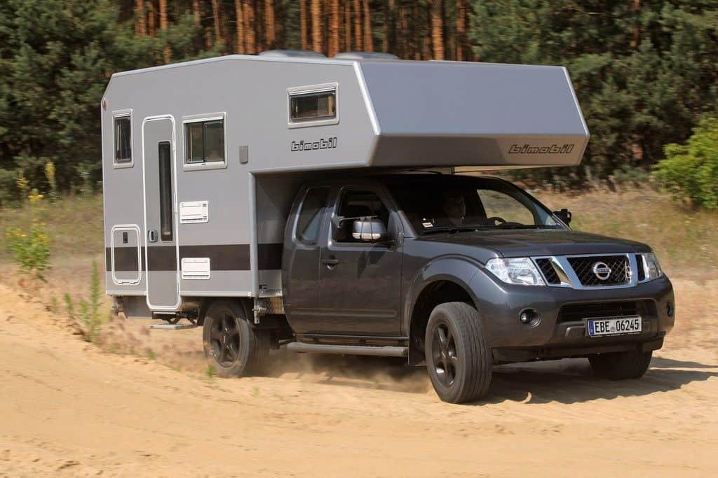 Pick-up mit Wohnkabine von Bimobil.