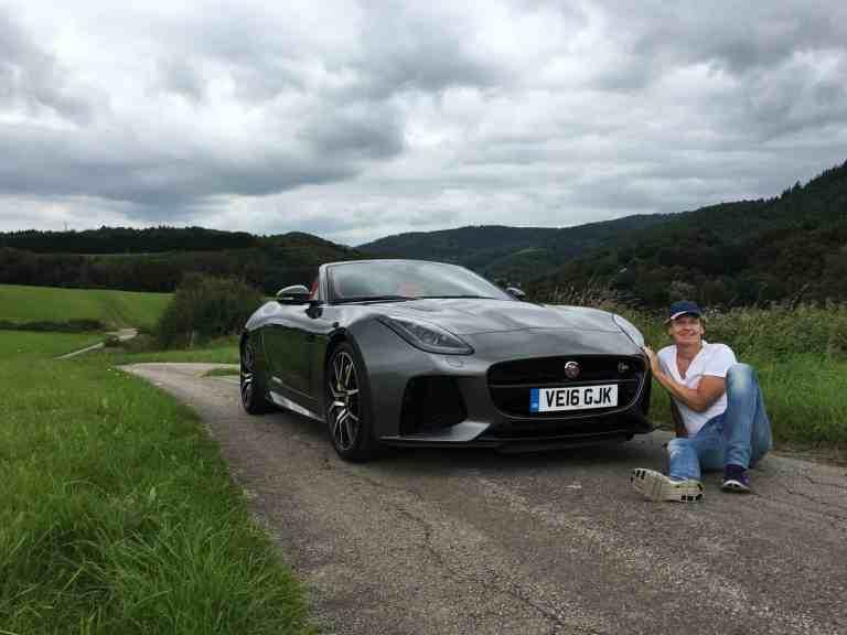 Jaguar F-Type SVR - Nicht nur sein Aussehen ist atemberaubend