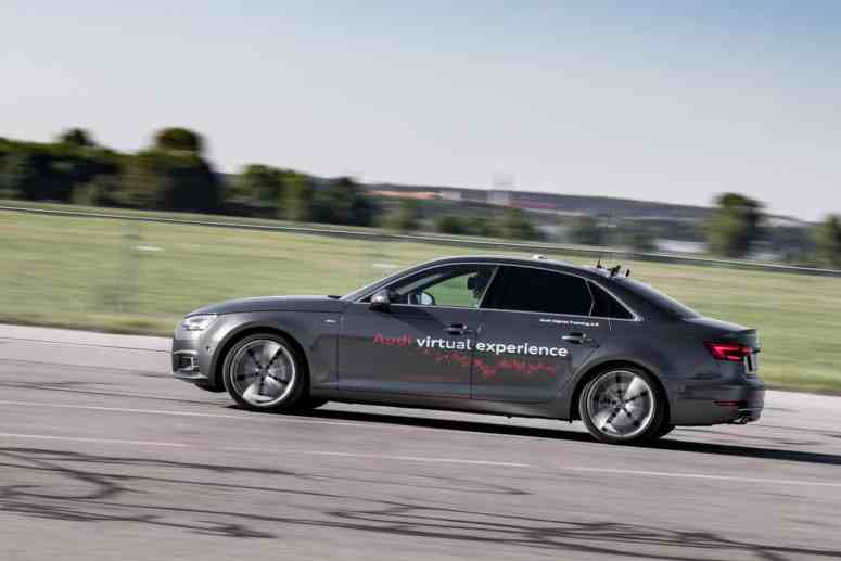 Audi A4 Virtual Reality Training Auto